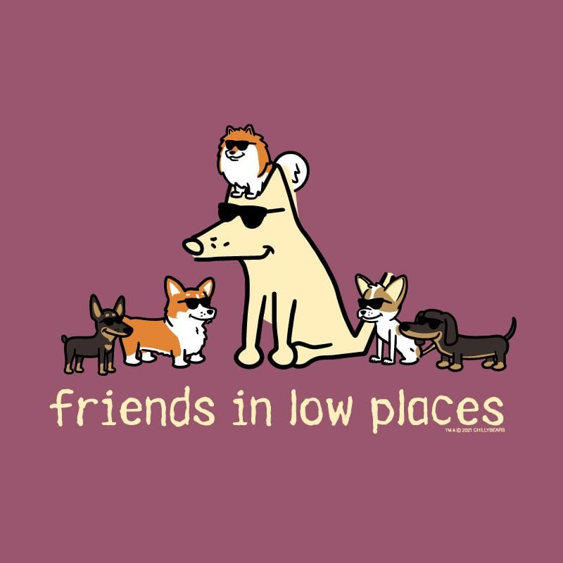 Friends In Low Places - Classic Long-Sleeve T-Shirt
