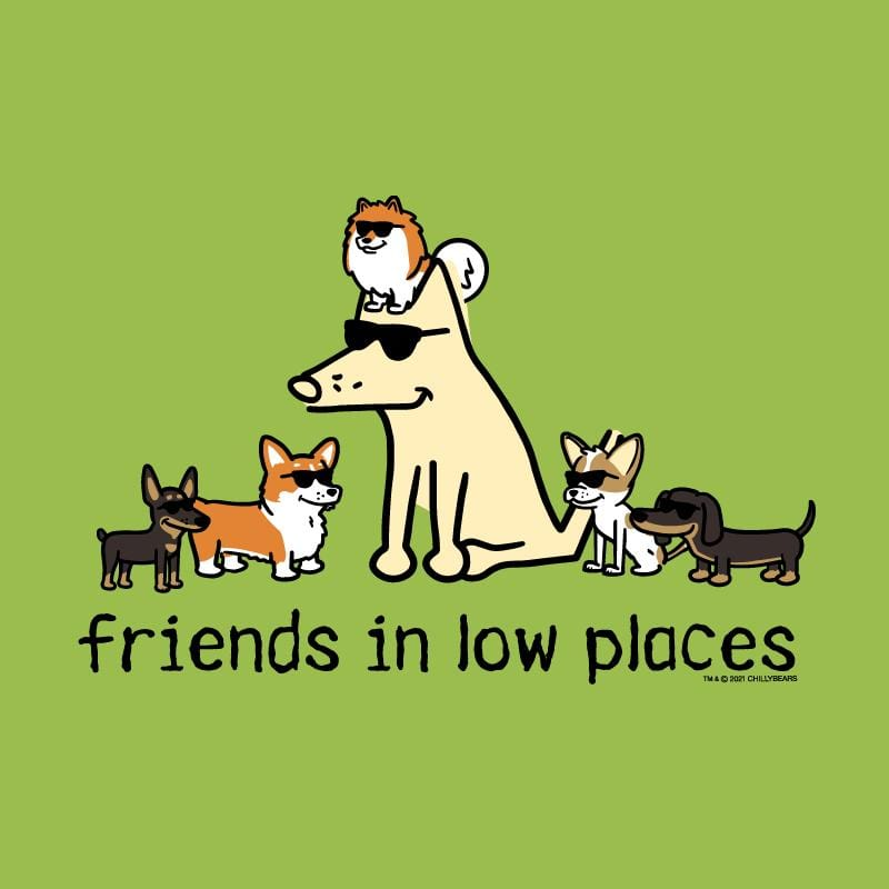 Friends In Low Places - Canvas Tote