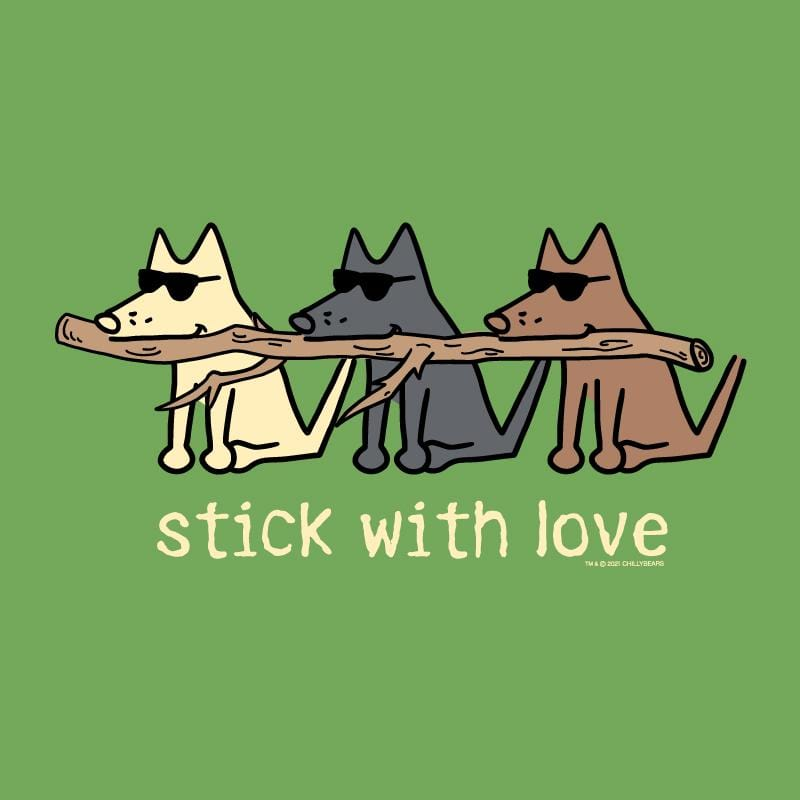Stick With Love - Ladies T-Shirt V-Neck
