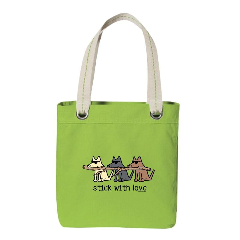 Stick With Love - Canvas Tote