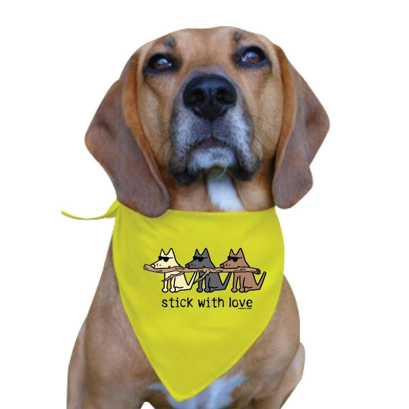 Stick With Love - Doggie Bandana