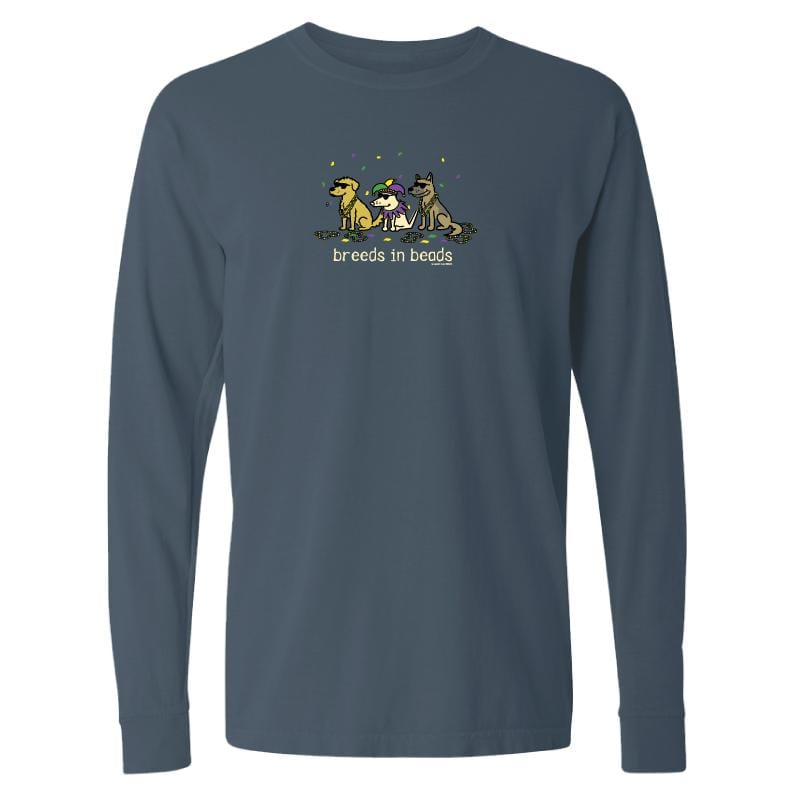 Breeds In Beads - Long-Sleeve T-Shirt Classic