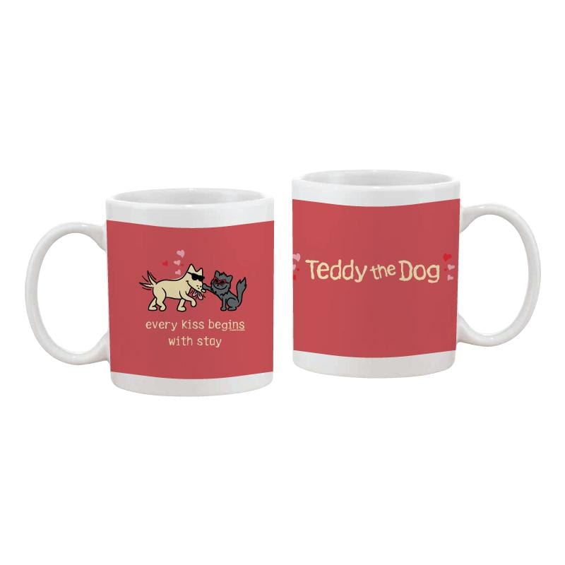 Every Kiss Begins With Stay - Coffee Mug