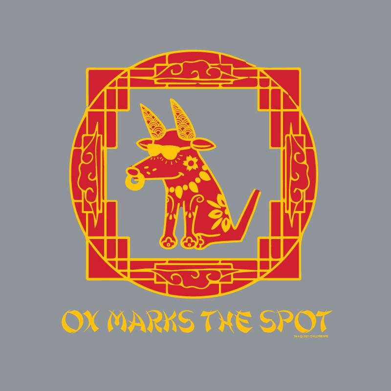 Ox Marks The Spot - Crew Neck Sweatshirt