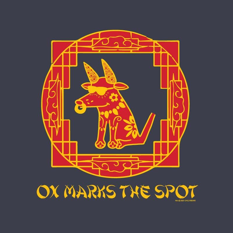 Ox Marks The Spot - Long-Sleeve T-Shirt Classic