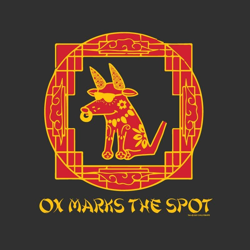 Ox Marks The Spot - Ladies Long-Sleeve T-Shirt