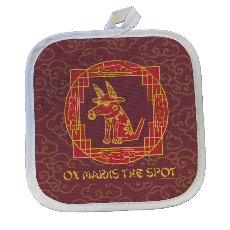 Ox Marks The Spot - Pot Holder