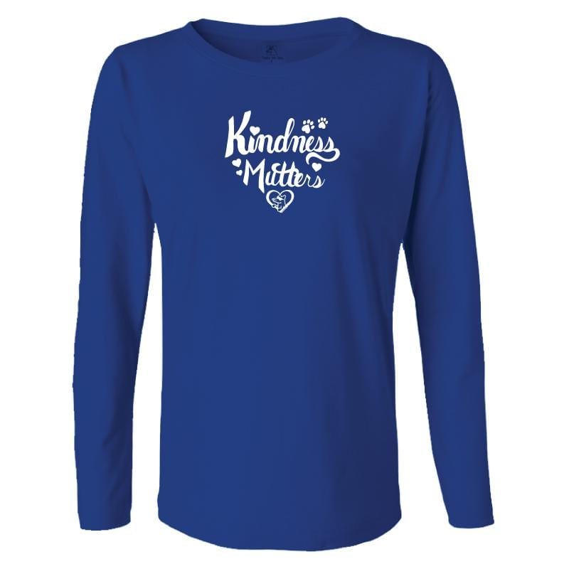 Kindness Mutters - Ladies Long-Sleeve T-Shirt