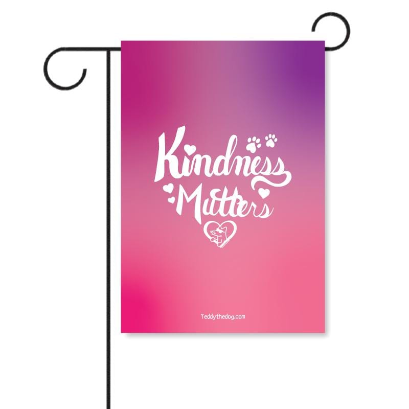 Kindness Mutters - Garden Flag