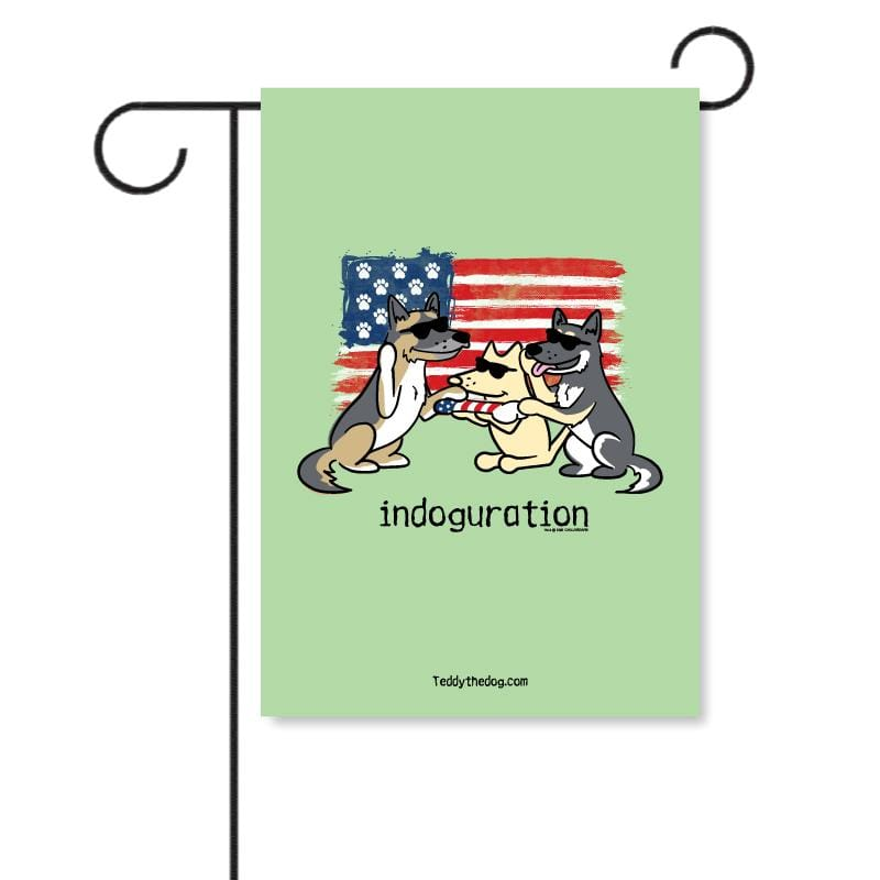 Indoguration - Garden Flag