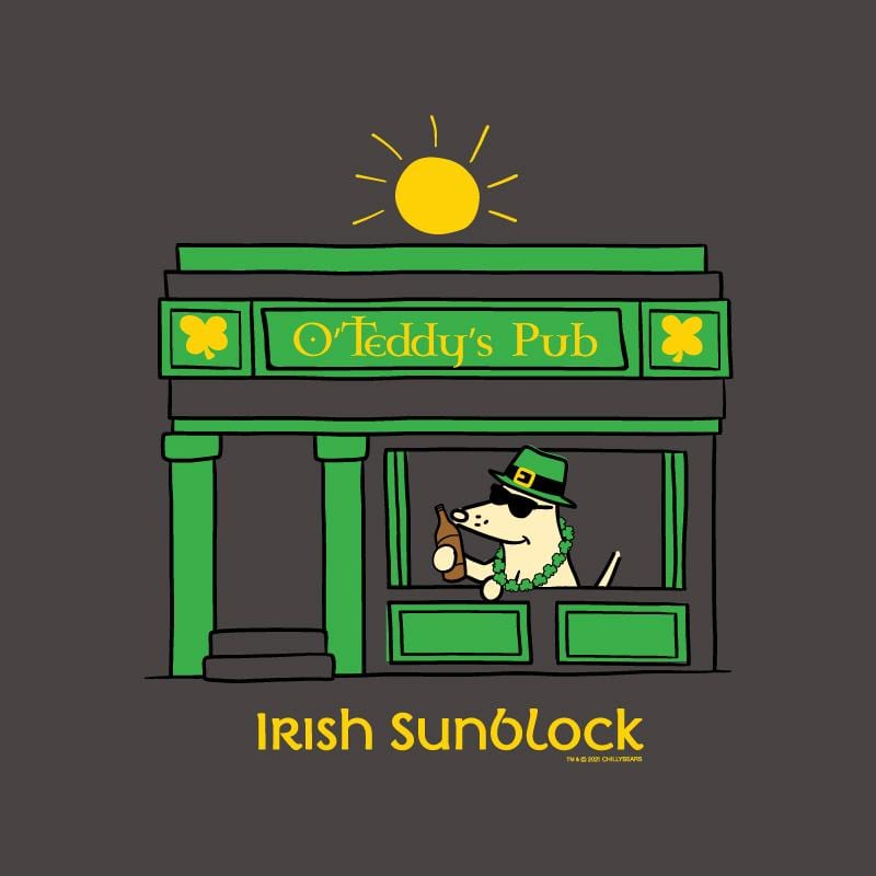 Irish Sunblock - Ladies Curvy V-Neck Tee