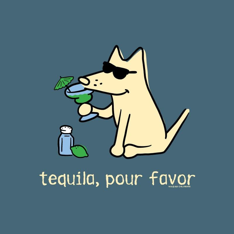 Tequila, Pour Favor - Lightweight Tee