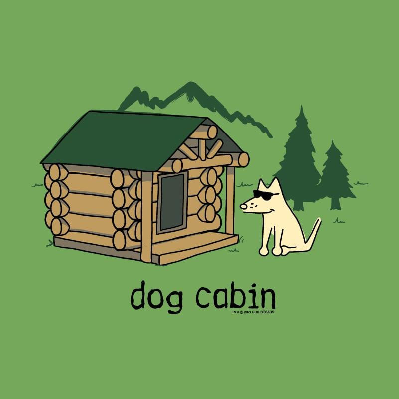 Dog Cabin - Ladies T-Shirt V-Neck