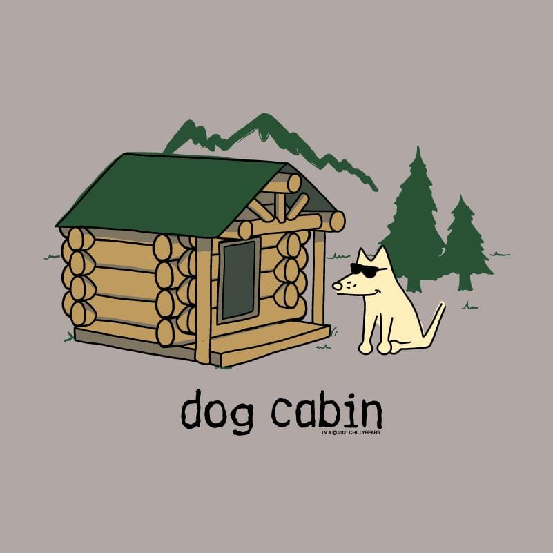 Dog Cabin - Ladies Long-Sleeve T-Shirt