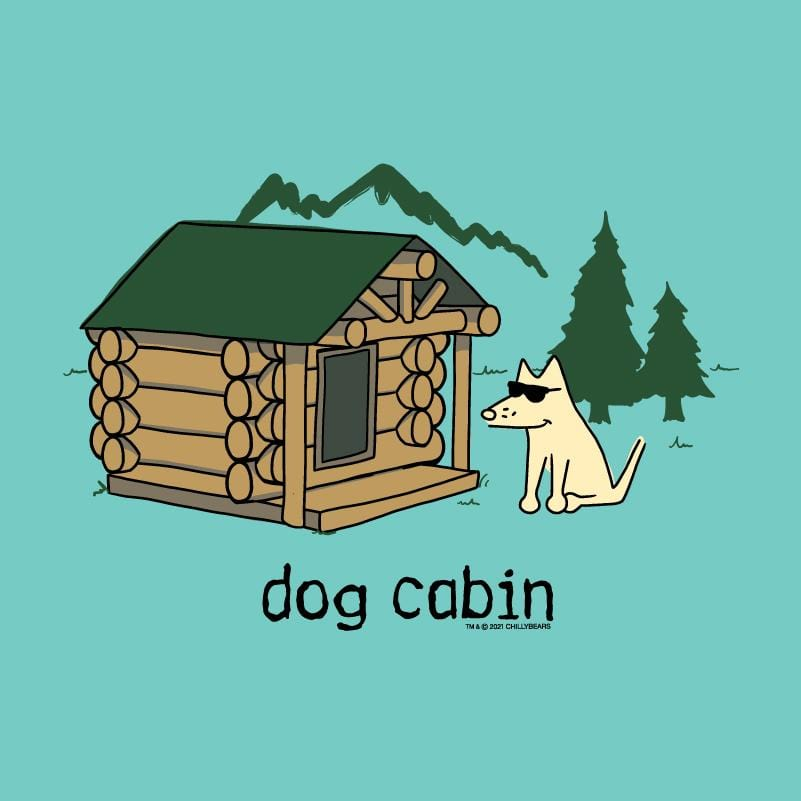 Dog Cabin - Ladies Curvy V-Neck Tee