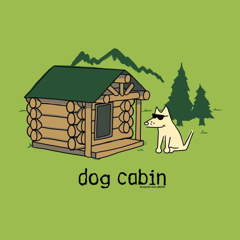 Dog Cabin - Canvas Tote