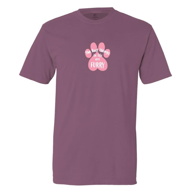 The Best Things In Life Are Furry - Classic Tee