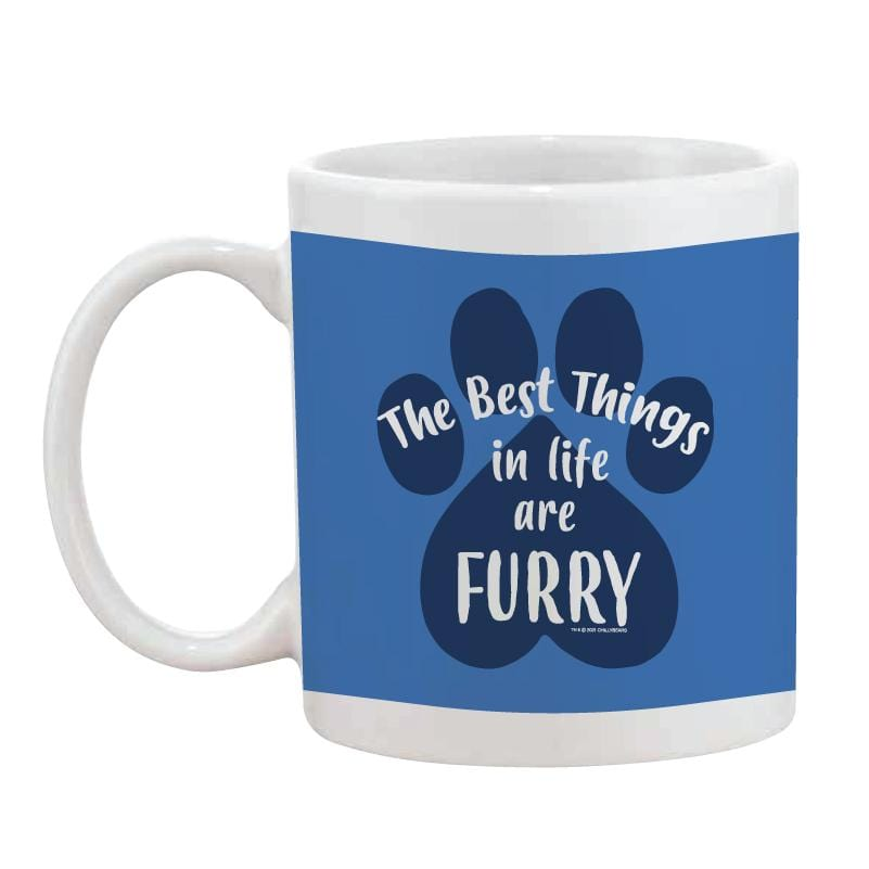The Best Things In Life Are Furry - Coffee Mug