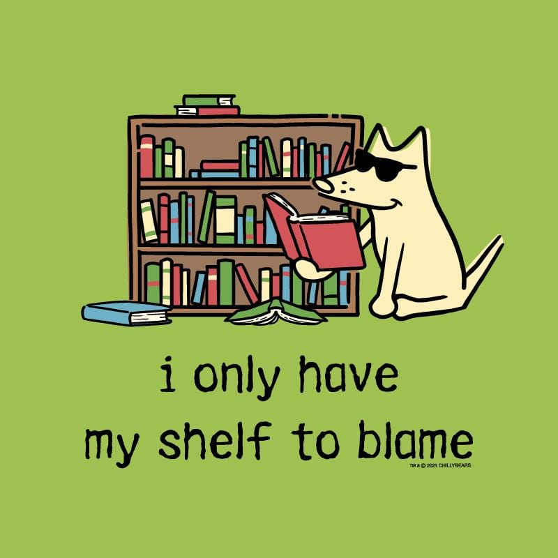 I Only Have My Shelf To Blame - Canvas Tote