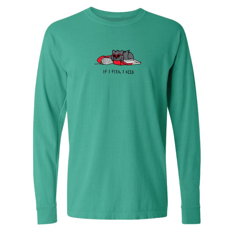If I Fits, I Sits - Tilly - Classic Long-Sleeve T-Shirt