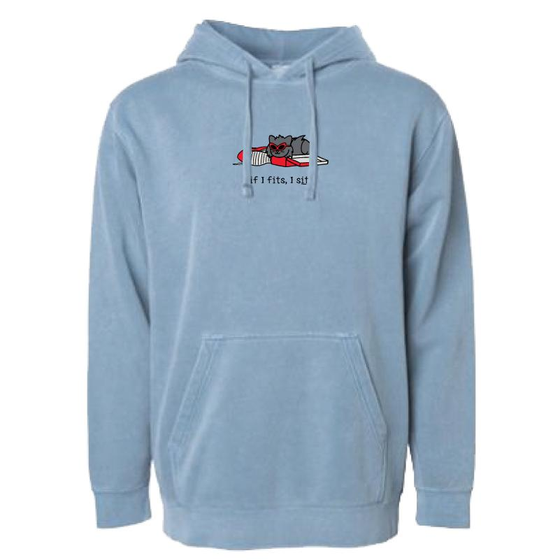 If I Fits, I Sits - Tilly - Sweatshirt Pullover Hoodie