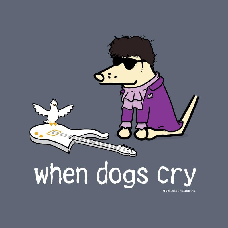 When Dogs Cry - Classic Long-Sleeve T-Shirt