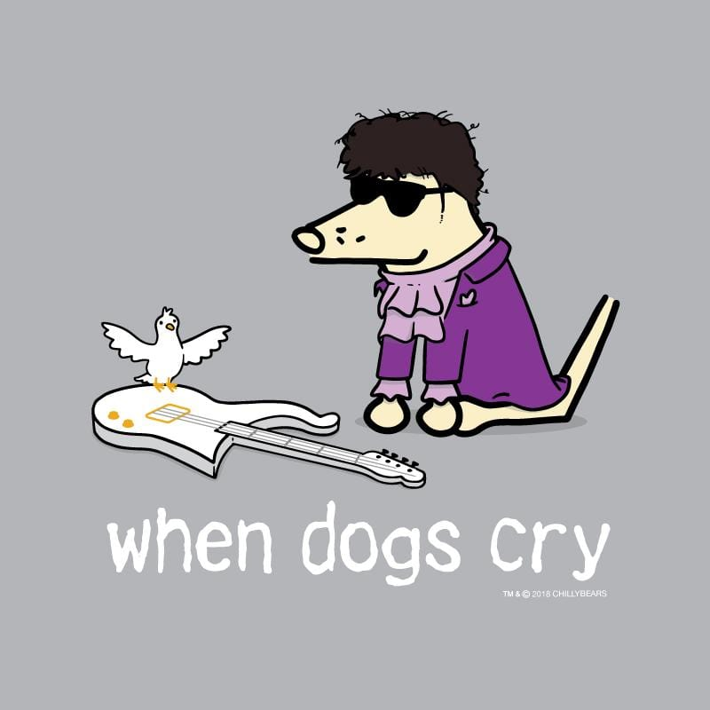 When Dogs Cry - Baseball T-Shirt