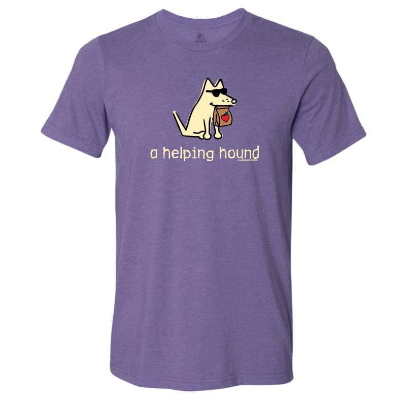 A Helping Hound - Lightweight Tee