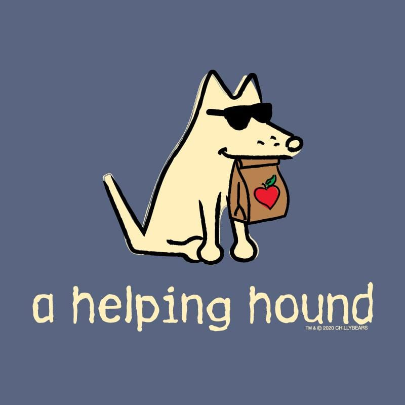 A Helping Hound - T-Shirt - Kids