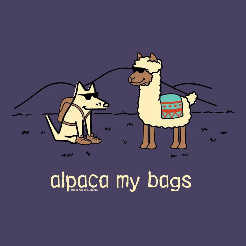 Alpaca My Bags - Ladies Curvy V-Neck Tee
