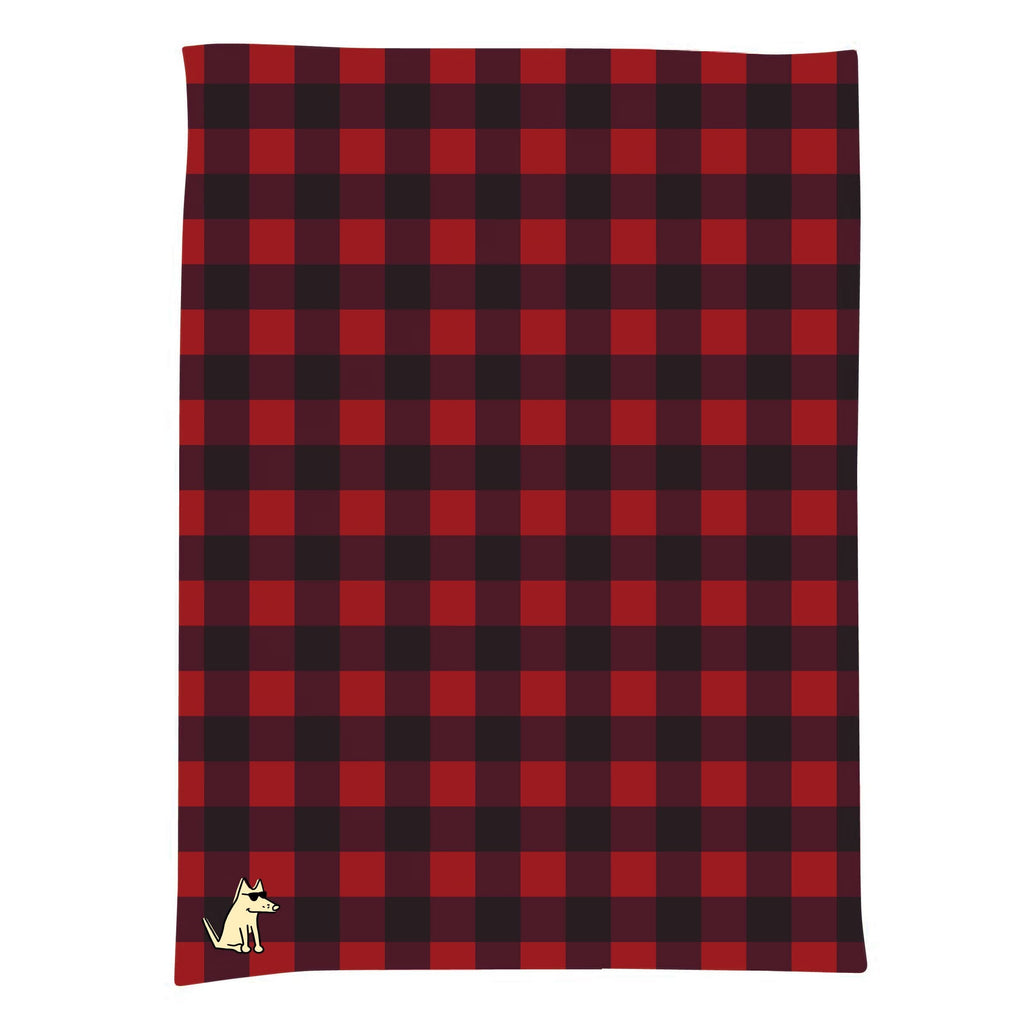 Teddy's Buffalo Plaid - Blanket