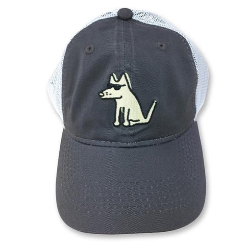 be your own dog trucker mesh hat