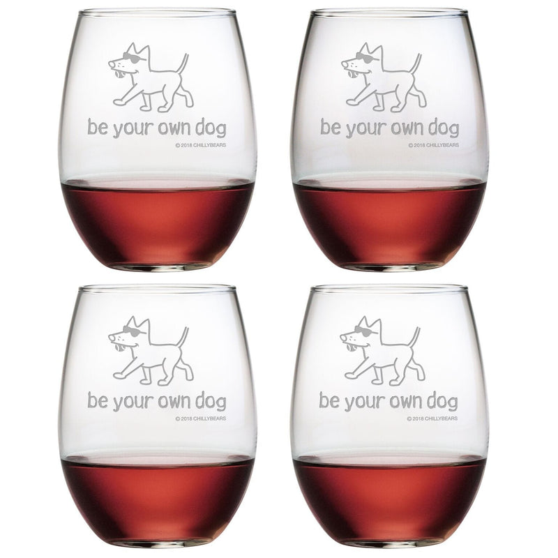 Be Your Own Dog  - Wine Glass