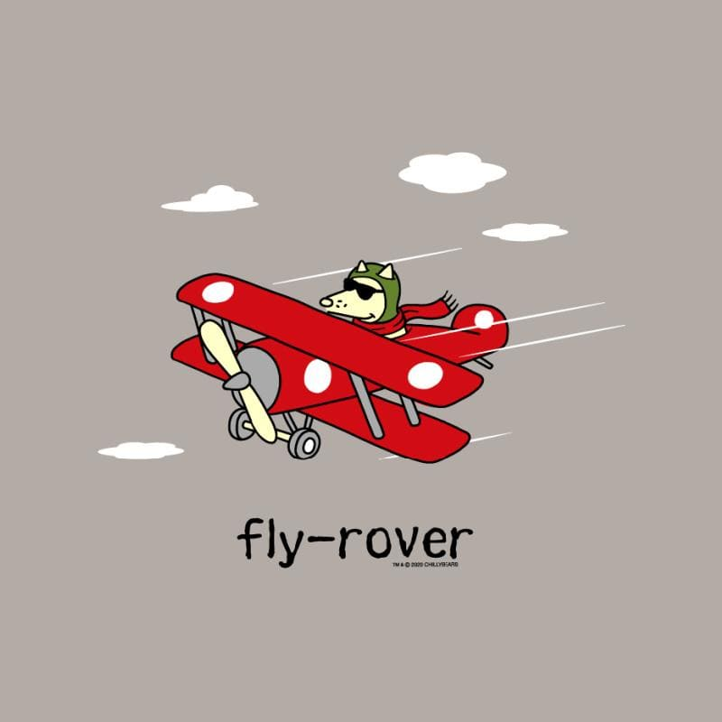 Fly-Rover - Ladies Long-Sleeve T-Shirt