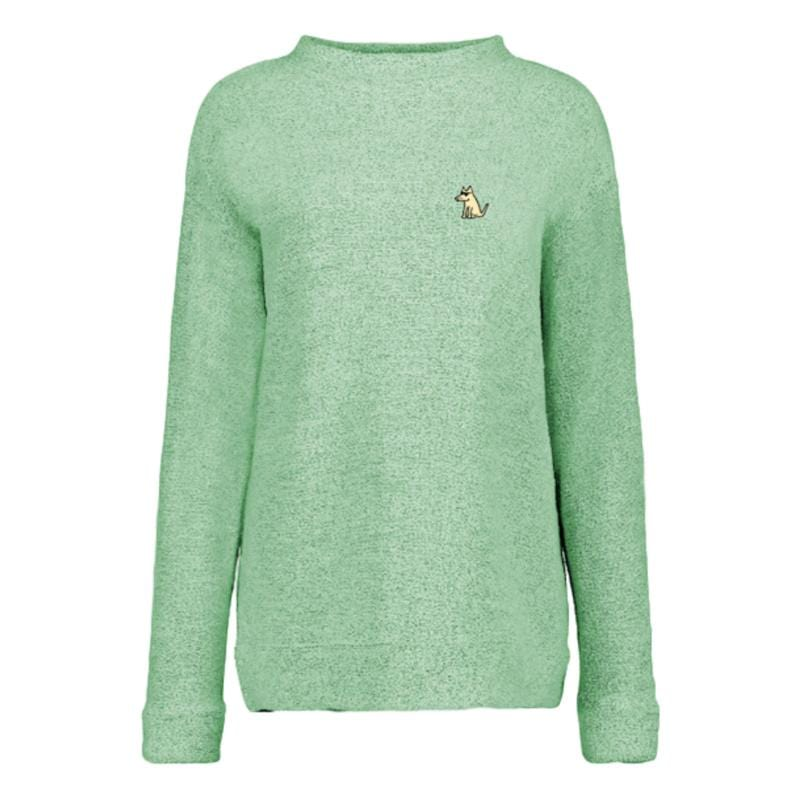 Teddy's Ladies Terry Mock Neck