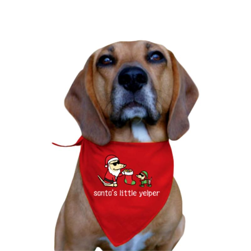 Santa's Little Yelper - Doggie Bandana