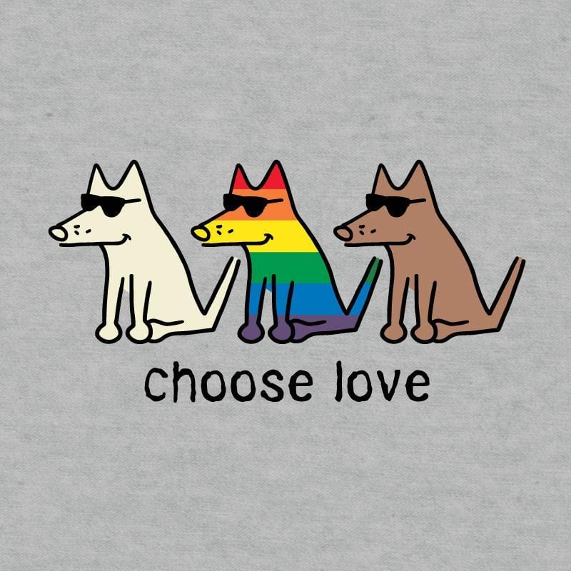 Choose Love - Doggie Tee - Teddy the Dog T-Shirts and Gifts
