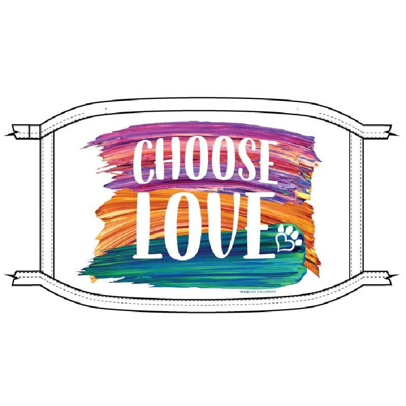 Choose Love Brush - Face Mask