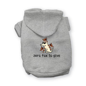 Zero Fox To Give - Doggie Hoodie