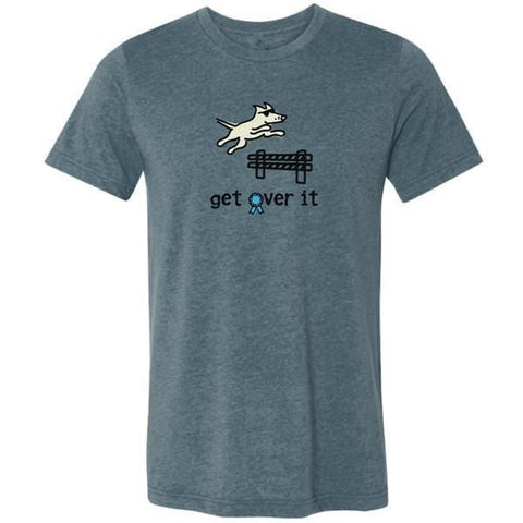 get over it lightweight t-shirt