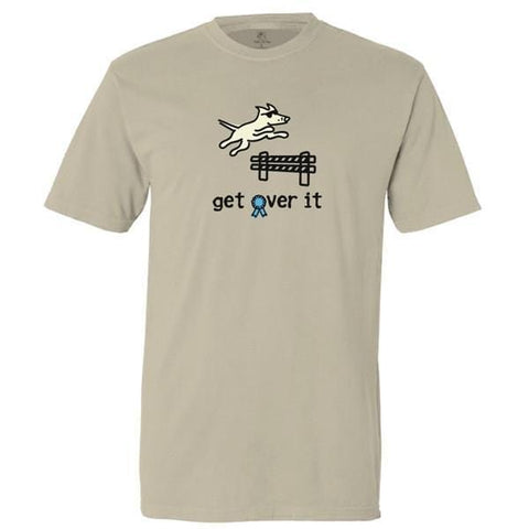get over it garment dyed classic t-shirt