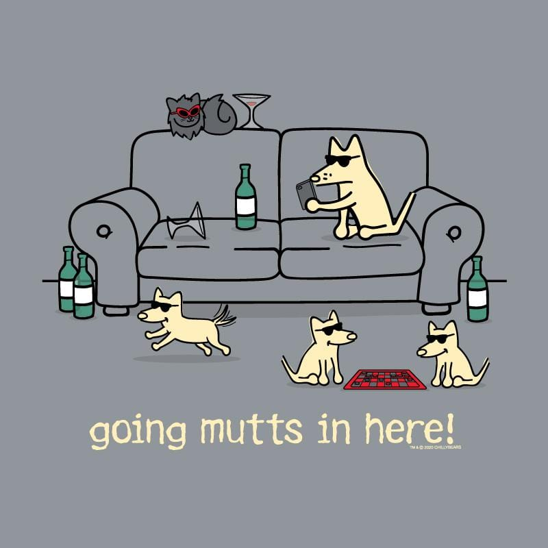 Going Mutts In Here! - Crew Neck Sweatshirt