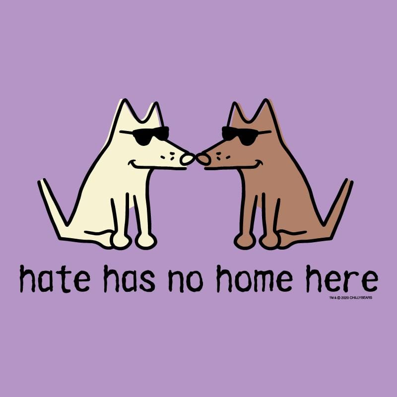 Hate Has No Home Here -T-Shirt Ladies V-Neck