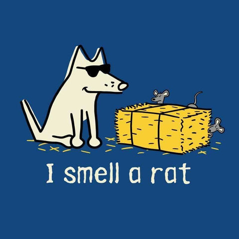 I Smell A Rat - Ladies T-Shirt V-Neck