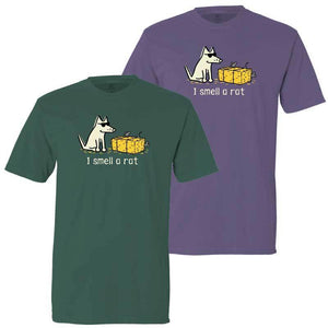 I Smell A Rat - Classic Tee - Teddy the Dog T-Shirts and Gifts