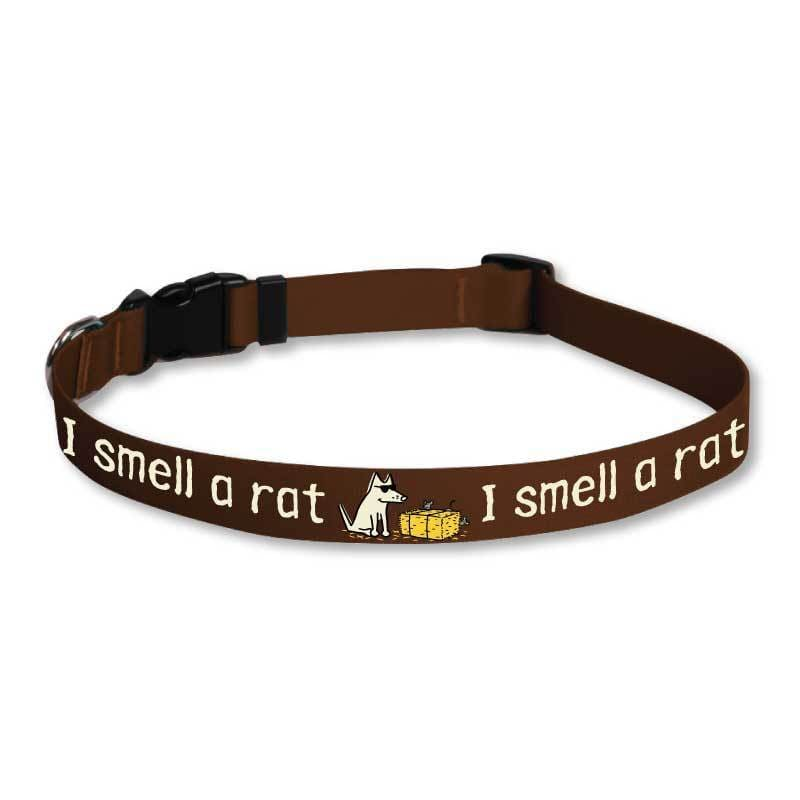 I Smell A Rat - Dog Collars - Teddy the Dog T-Shirts and Gifts