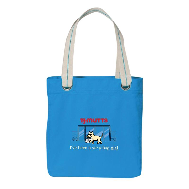 I've Been A Very Bag Girl - Canvas Tote