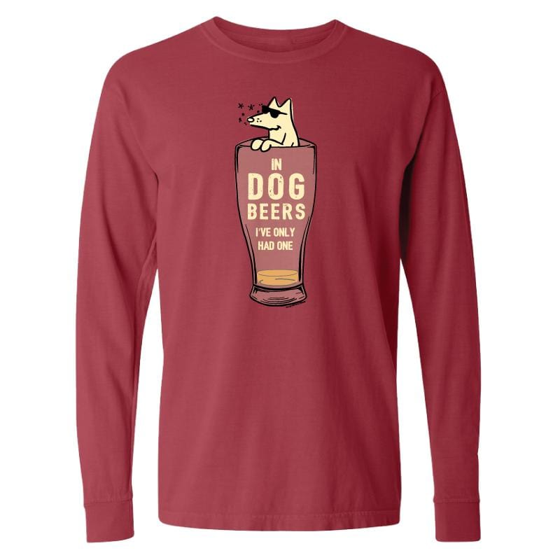 In Dog Beers I've Only Had One - Long-Sleeve T-Shirt Classic