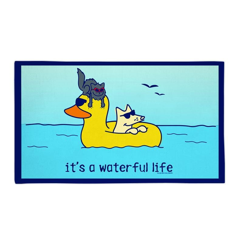 It's A Waterful Life - Beach Towel