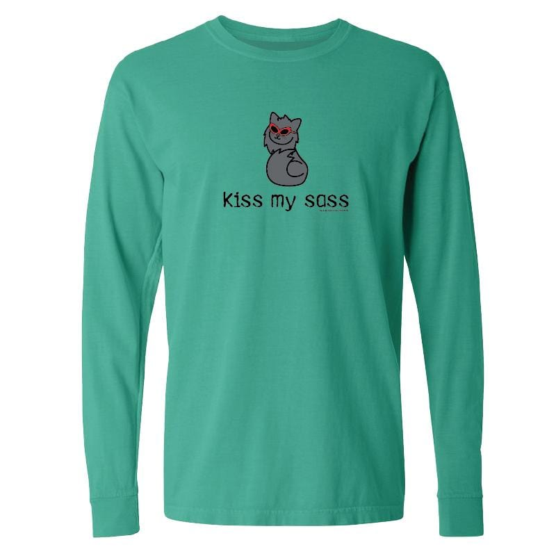Kiss My Sass - Classic Long-Sleeve T-Shirt